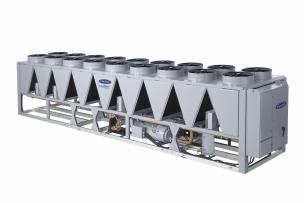 Novo chiller de condensação a ar Aquaforce®30XV com inteligência Greenspeed®